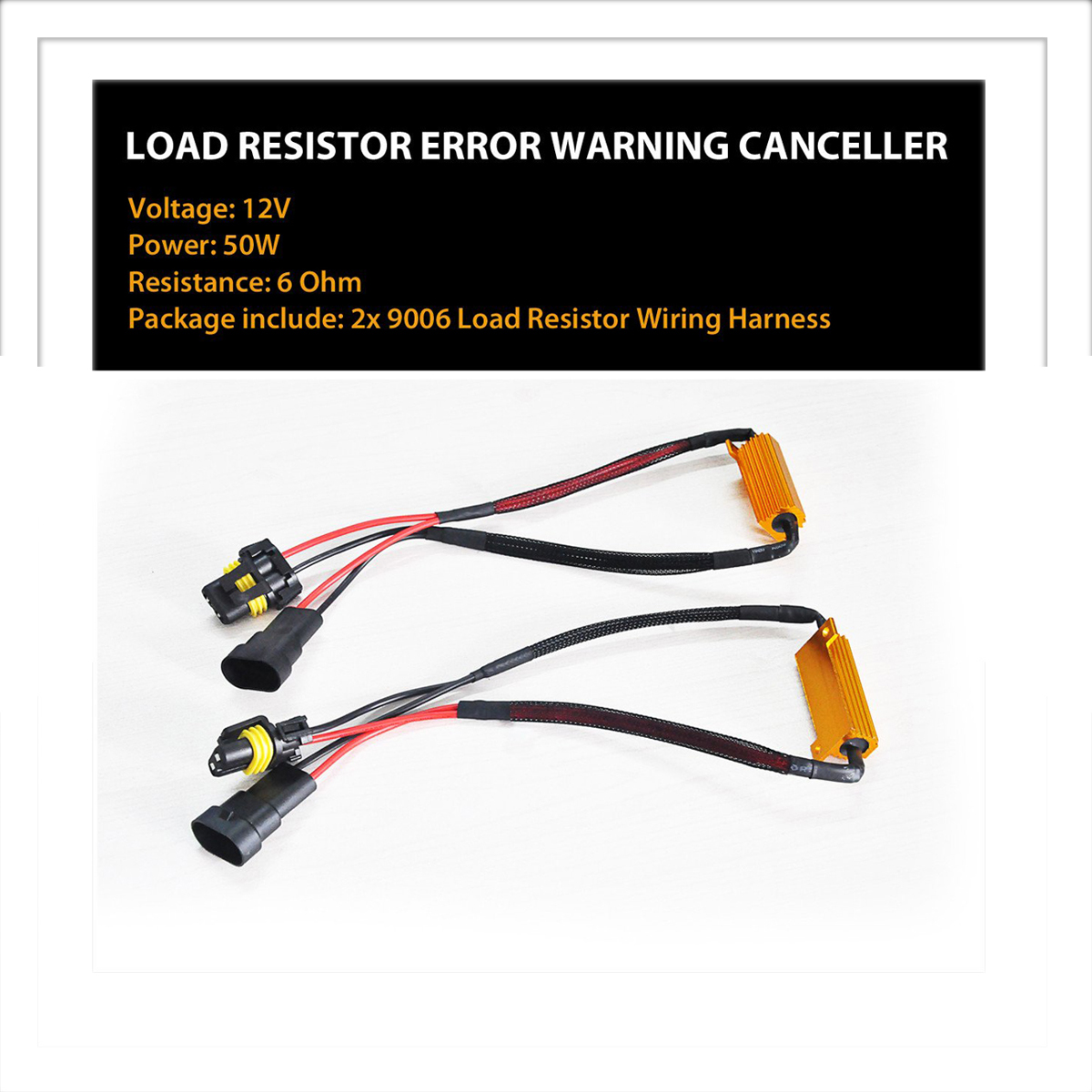 Lasfit Rd9006 9005 9012 H10 Led Headlight Canbus Error Free Anti Resistor Wiring