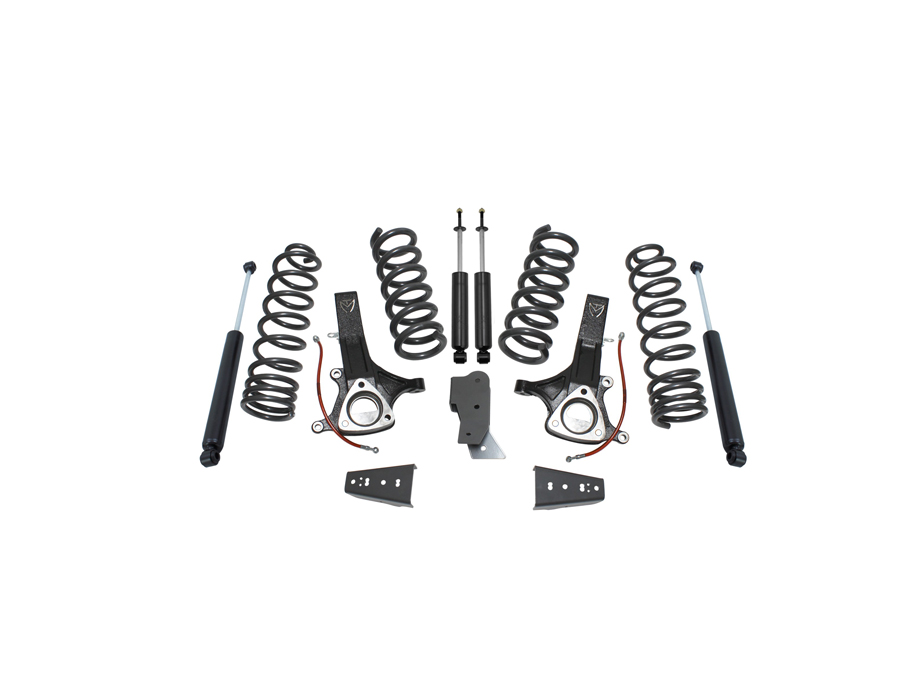 Maxtrac Suspension 1628 Suspension Lift Kit Components Rear Coil Spacer